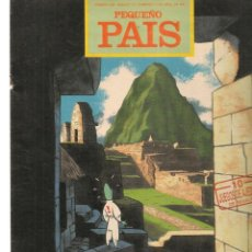 Cómics: PEQUEÑO PAIS. Nº 489. OZZO EN EL MACHUPICCHU. ABRIL 1991.(ST/B8.1). Lote 219108691