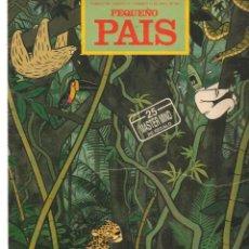 Cómics: PEQUEÑO PAIS. Nº 490. OZZO EN EL AMAZONAS. ABRIL 1991.(ST/B8.1). Lote 219108908