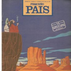 Cómics: PEQUEÑO PAIS. Nº 491. OZZO, UN EXTRAÑO COWBOY. ABRIL 1991.(ST/B8.1). Lote 219109147