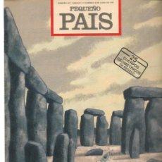 Cómics: PEQUEÑO PAIS. Nº 497. OZZO EN STONEHENGE. JUNIO 1991.(ST/B8.1). Lote 219109783