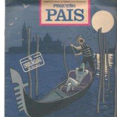 Cómics: PEQUEÑO PAIS. Nº 499. OZZO EN GÓNDOLA. JUNIO 1991.(ST/B8.1). Lote 219110116