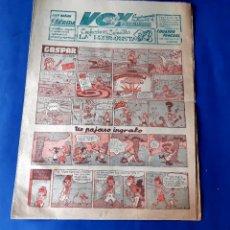 Cómics: VOY SUPLEMENTO DE LA MAÑANA AÑOS 50 - GASPAR DE J.SANCHIZ..ENTRE OTROS. Lote 219193581