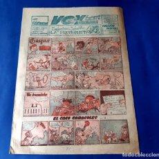 Cómics: VOY SUPLEMENTO DE LA MAÑANA AÑOS 50 - GASPAR DE J.SANCHIZ..ENTRE OTROS. Lote 219193621