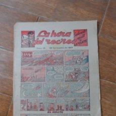 Cómics: LA HORA DEL RECREO Nº 48 DIBUJA SANCHIS ( PUMBY ) SUPLEMENTO INFANTIL DEL LEVANTE. Lote 221266663