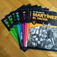Cómics: LO MEJOR DE MARTÍNEZ EL FACHA COMPLETA - 10 NÚMEROS - D1. Lote 221770663