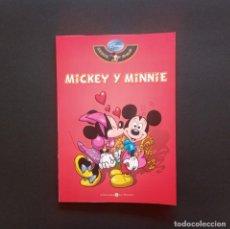 Cómics: MICKEY Y MINNIE. DISNEY SERIE ORO Nº1. BIBLIOTECA EL MUNDO, 2009.. Lote 222261516