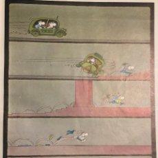 Cómics: HUMOR GRÁFICO. MORDILLO. 1983. PÁGINA DE REVISTA. TAMAÑO FOLIO. ENMARCABLE.. Lote 222654503