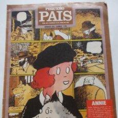 Cómics: PEQUEÑO PAIS HEROES DEL ´COMIC´ / 25 Nº 394 18 JUNIO 1989 ANNIE. Lote 228915840