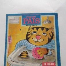 Cómics: PEQUEÑO PAIS HÉROES DEL ´COMIC´ / 61 Nº 430 24-25 FEBRERO 1990 EL GATO FRITZ. Lote 228917700