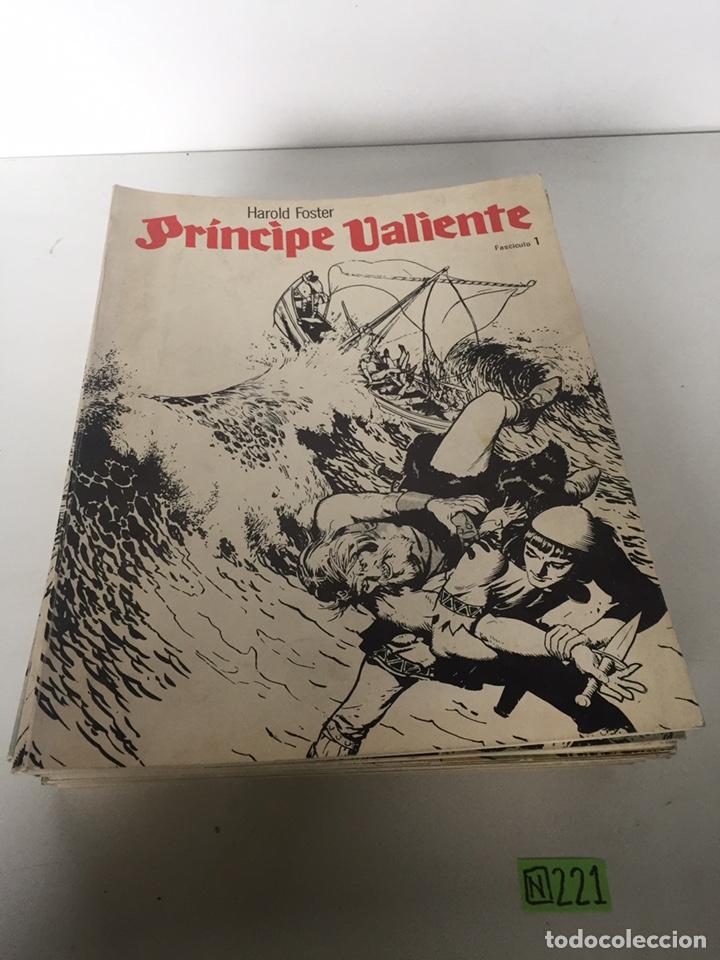 HAROLD FOSTER PRINCIPE VALIENTE FASCICULE 1 AL 18 FALTA EL NÚMERO 16 (Tebeos y Comics - Suplementos de Prensa)