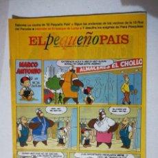 Cómics: EL PEQUEÑO PAIS. Lote 234579515
