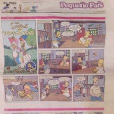 """Cómics: 27 SUPLEMENTOS """"PEQUEÑO PAÍS"""". Lote 235159500"""