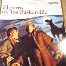 Cómics: EL PERRO DE LOS BASKERVILLE JOYAS LITERARIAS. Lote 237494380