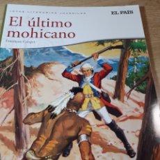 Cómics: EL ULTIMO MOHICANO JOYAS LITERARIAS EL PAIS. Lote 237494460