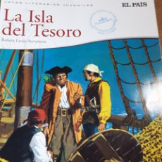Cómics: LA ISLA DEL TESORO JOYAS LITERARIAS EL PAIS. Lote 237494715