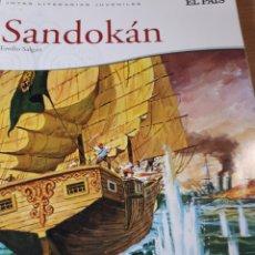 Cómics: SANDOKAN JOYAS LITERARIAS EL PAIS. Lote 237494835
