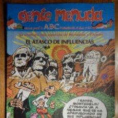 Cómics: GENTE MENUDA Nº 111 - CONAN, ZIPI Y ZAPE, CAPITÁN TRUENO, MORTADELO Y FILEMÓN. SUPERLOPEZ, SPIDERMAN. Lote 238712830