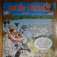 Cómics: GENTE MENUDA Nº 79 - CONAN, ZIPI Y ZAPE, CAPITÁN TRUENO, MORTADELO Y FILEMÓN. SUPERLOPEZ, SPIDERMAN. Lote 238797280