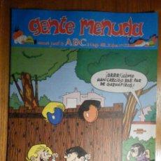 Cómics: GENTE MENUDA Nº 132 - CONAN, ZIPI Y ZAPE, CAPITÁN TRUENO, MORTADELO Y FILEMÓN. SUPERLOPEZ, SPIDERMAN. Lote 238803550