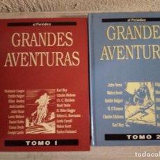 Cómics: GRANDES AVENTURAS (EL PERIÓDICO) - TOMOS I Y II. Lote 243890575