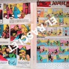 Cómics: ANTIGÜO COMIC SUPLEMENTO DEL DIARIO AVUI - DEL 29 - 7 - 1984. Lote 245069630