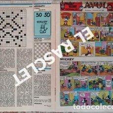 Cómics: ANTIGÜO COMIC SUPLEMENTO DEL DIARIO AVUI - DEL 7-10- 1984. Lote 245086895