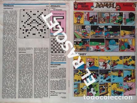 ANTIGÜO COMIC SUPLEMENTO DEL DIARIO AVUI - DEL 28-10- 1984 (Tebeos y Comics - Suplementos de Prensa)