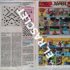 Cómics: ANTIGÜO COMIC SUPLEMENTO DEL DIARIO AVUI - DEL 28-10- 1984. Lote 245087565