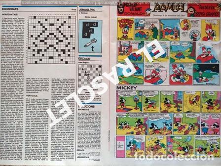 ANTIGÜO COMIC SUPLEMENTO DEL DIARIO AVUI - DEL 4-11- 1984 (Tebeos y Comics - Suplementos de Prensa)