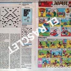 Cómics: ANTIGÜO COMIC SUPLEMENTO DEL DIARIO AVUI - DEL 4-11- 1984. Lote 245087750