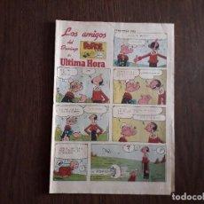 Cómics: SUPLEMENTO DE PRENSA LOS AMIGOS DEL DOMINGO DE ULTIMA HORA, AÑO 1985. Lote 245728580