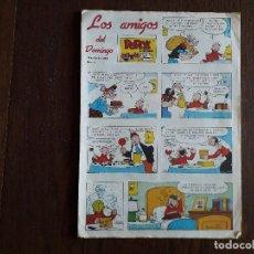 Fumetti: SUPLEMENTO DE PRENSA LOS AMIGOS DEL DOMINGO DE ULTIMA HORA, Nº 8 AÑO 1983. Lote 248351385