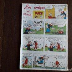 Fumetti: SUPLEMENTO DE PRENSA LOS AMIGOS DEL DOMINGO DE ULTIMA HORA, Nº 44. Lote 248351460