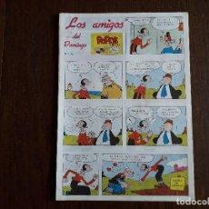Fumetti: SUPLEMENTO DE PRENSA LOS AMIGOS DEL DOMINGO DE ULTIMA HORA, Nº 42. Lote 248351655