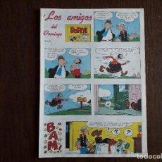 Fumetti: SUPLEMENTO DE PRENSA LOS AMIGOS DEL DOMINGO DE ULTIMA HORA, Nº 29. Lote 248351715