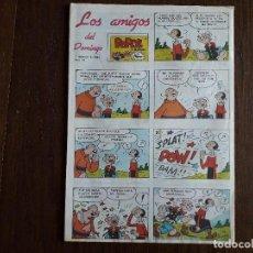 Fumetti: SUPLEMENTO DE PRENSA LOS AMIGOS DEL DOMINGO DE ULTIMA HORA, Nº 16 AÑO 1983. Lote 248351780