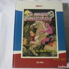 Cómics: EL HOMBRE ENMASCARADO - EL GRAN TESORO - LEE FALK - COLECCIÓN EL PAIS Nº 15. Lote 249410585