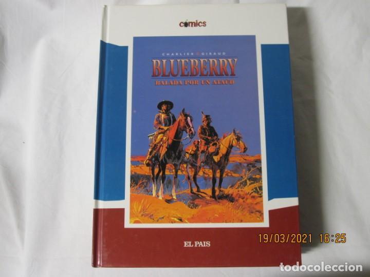 BLUEBBERRY BALADA POR UN ATAUD CHALIER GIRAUD EL PAIS (Tebeos y Comics - Suplementos de Prensa)