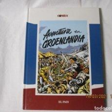 Cómics: EL CAPITÁN TRUENO. AVENTURA EN GROENLANDIA. EL PAIS.2005. Lote 249412145