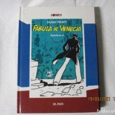 Cómics: COMICS EL PAIS Nº 5 CORTO MALTES FABULA DE VENECIA PARTE LL HUGO PRATT. TAPA DURA 2005. Lote 249412530