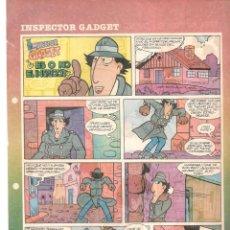Fumetti: SUPLEMENTO DE PRENSA. EL PEQUEÑO PAÍS. AVENTURAS INSPECTOR GADGET. LOTE 19 AVENTURAS. (T/19). Lote 251930230
