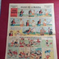 Cómics: SUPLEMENTO DIARIO DE LA MARINA 1952 -EXCELENTE ESTADO- 37 X 55 CMS. Lote 253775420