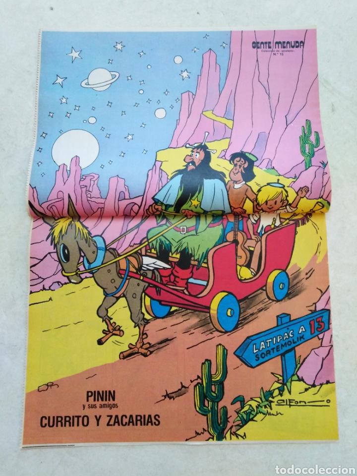 Cómics: Lote de 39 Gente menuda , suplementos de historietas de los domingos de Abc ( TODOS TRAEN PÓSTER ) - Foto 3 - 261281160