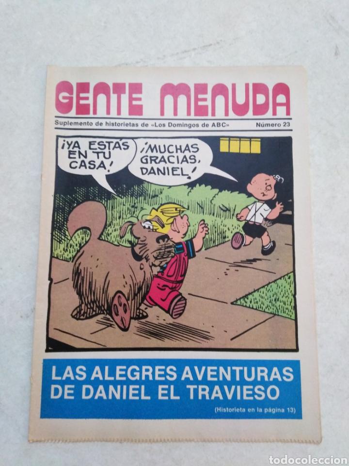 Cómics: Lote de 39 Gente menuda , suplementos de historietas de los domingos de Abc ( TODOS TRAEN PÓSTER ) - Foto 8 - 261281160