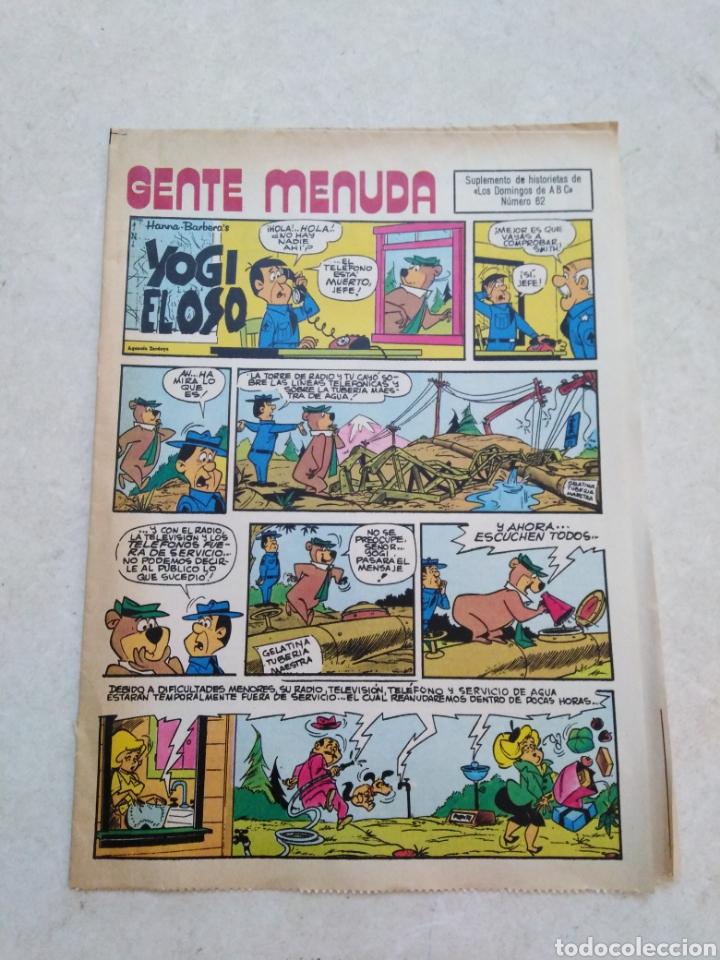 Cómics: Lote de 39 Gente menuda , suplementos de historietas de los domingos de Abc ( TODOS TRAEN PÓSTER ) - Foto 10 - 261281160