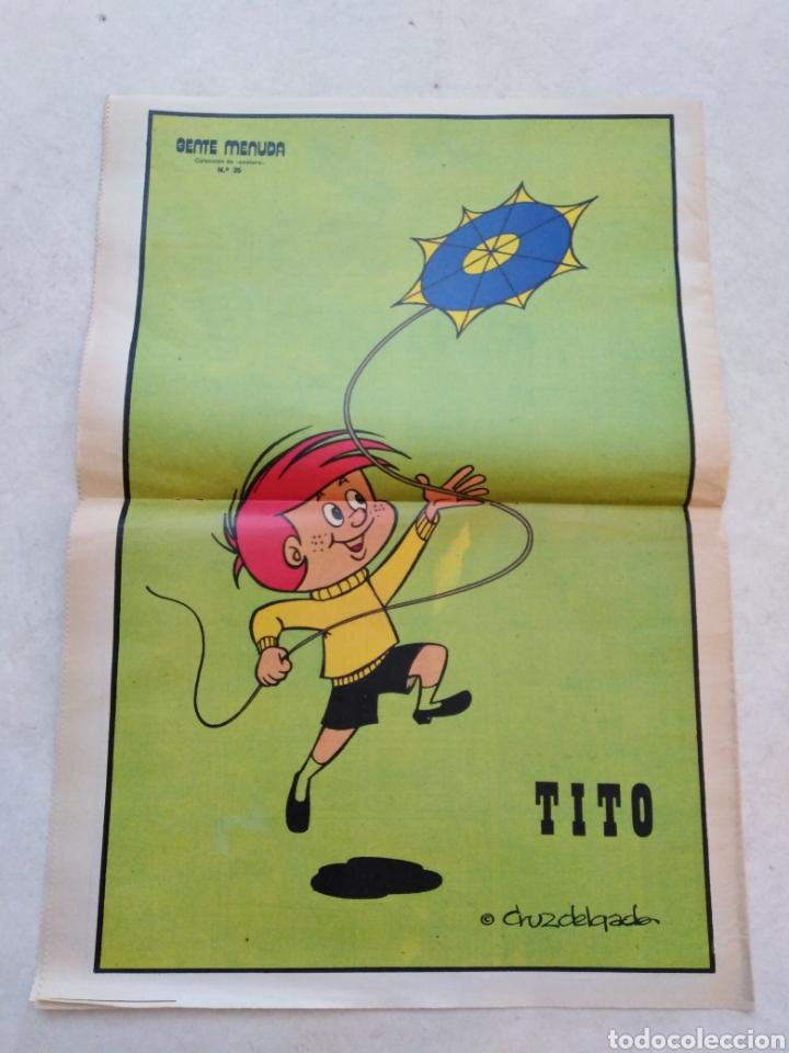 Cómics: Lote de 39 Gente menuda , suplementos de historietas de los domingos de Abc ( TODOS TRAEN PÓSTER ) - Foto 11 - 261281160