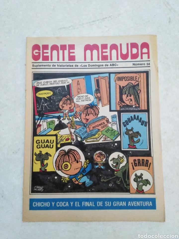 Cómics: Lote de 39 Gente menuda , suplementos de historietas de los domingos de Abc ( TODOS TRAEN PÓSTER ) - Foto 18 - 261281160