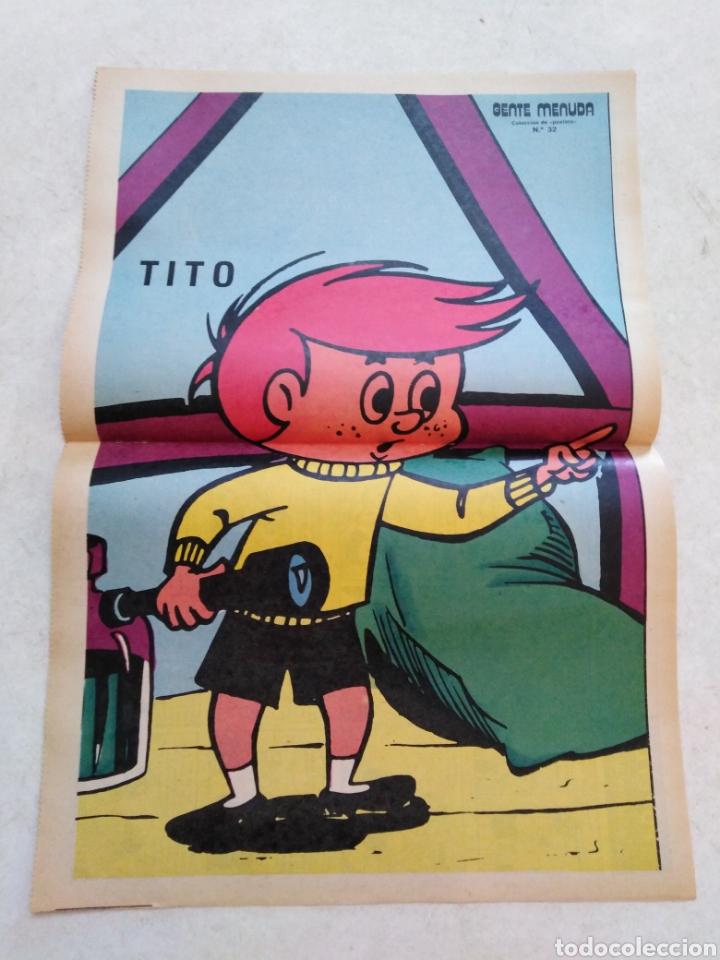 Cómics: Lote de 39 Gente menuda , suplementos de historietas de los domingos de Abc ( TODOS TRAEN PÓSTER ) - Foto 21 - 261281160