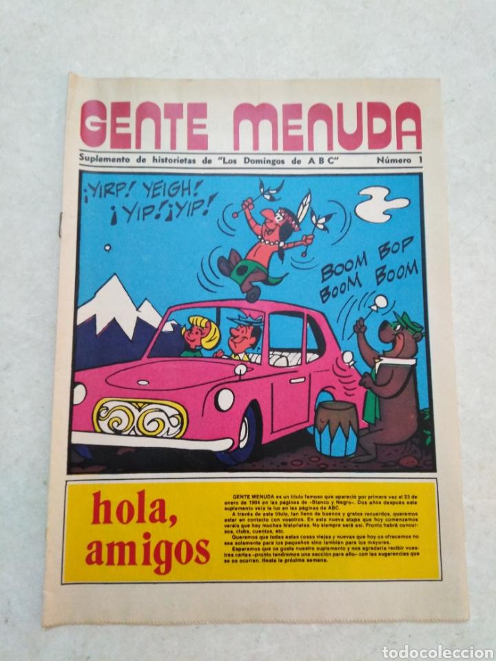 Cómics: Lote de 39 Gente menuda , suplementos de historietas de los domingos de Abc ( TODOS TRAEN PÓSTER ) - Foto 24 - 261281160