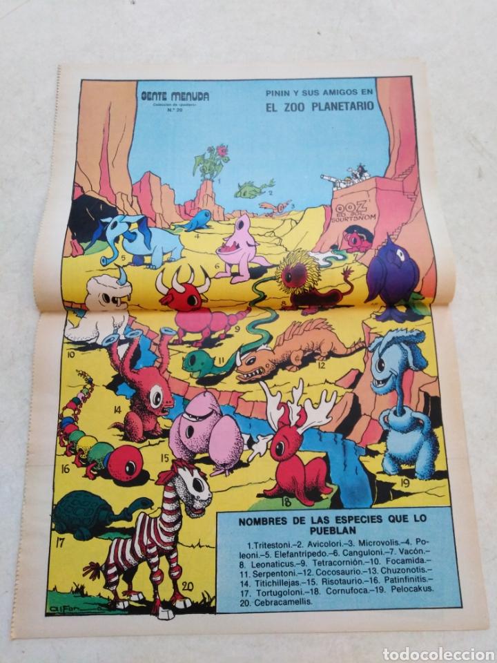 Cómics: Lote de 39 Gente menuda , suplementos de historietas de los domingos de Abc ( TODOS TRAEN PÓSTER ) - Foto 35 - 261281160